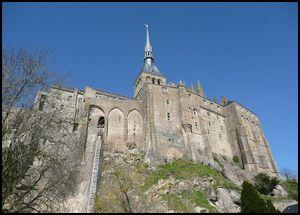 Profitez de vos vacances en gite : le Mont Saint Michel est splendide