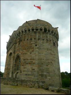 Depuis les gites : Dinan et son château sont à visiter